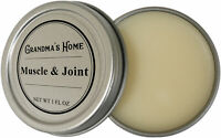Muscle & Joint Pain Relief Salve by Grandma's Home All Natural Vegan Formula