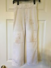 Under Armour UA Baseball Pants Youth Loose 7-8 Small Stained Wide Leg straight