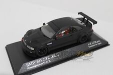 MINICHAMPS 403012193 BMW M3 GTR E46 Matt Black for Kyosho 1/43 #NEW