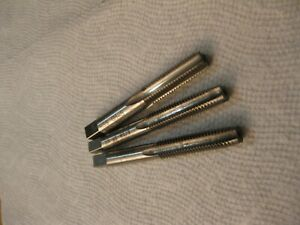 5/16-18 NC STI Tap Set, 1 Plug & 1 Taper Wood&Spencer, 1 Bottom Brubaker
