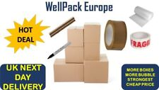 10 x XL LARGE PACKING BOXES FOR MOVING HOUSE REMOVAL CARDBOARD STORAGE BOXES KIT