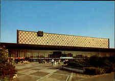 BRAUNSCHWEIG Niedersachsen Postkarte ~1960 Neuer Bahnhof color Ansichtskarte