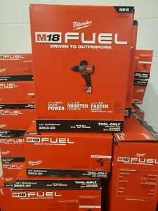 """BRAND NEW Milwaukee FUEL 2803-20 18V 1/2"""" Cordless Brushless Drill M18 Tool Only"""
