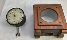 Vintage Stem Wind Smiths Classic Dashboard Car Clock No 42371 / P-64.298 WORKING