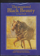 THE ANNOTATED BLACK BEAUTY. By Anna Sewell. Pub: J. A. Allen 1989   NICE COPY