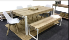 Dining Table and 2 x bench seat - Modern - Scandinavian