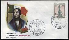 1974 - Niccolò Tommaseo - n.1266 - Busta FDC