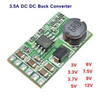 3V/3.3V/3.7V/5V/6V/7.5V/9V/12V 3.5A DC DC Buck Step-Down Converter Module