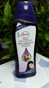 Ayur Herbal Shampoo Amla & Shikakai With Reetha 500ml UK