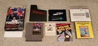 Mike Tyson's Punch-Out Nintendo NES Punchout Boxing Game Complete Letter CIB Lot