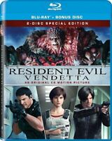Resident Evil: Vendetta (Blu-ray, 2017, 2-Disc) NEW Factory Sealed Free Shipping