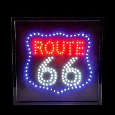 Route 66 LED Sign