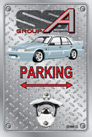 Pop A Top - Wall Mount Bottle Opener Metal Sign - BROCK HDT VL WALKINSHAW