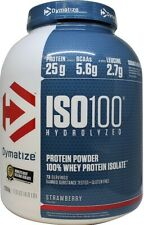 Dymatize ISO-100 Hydrolized Whey Protein Isolate 900g or 2.2kg Powder Recovery
