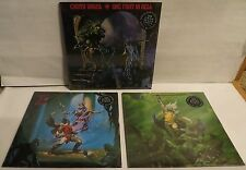 Cirith Ungol 3 Record set LP One Foot In Hell Frost and Fire King Of The Dead