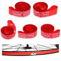 "2pc Bicycle Pressure Inner Tube Pad Rim Tire Liner Cushion 12~29"" Rim Strip Tape"