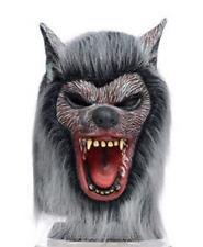 Werewolf Mask Wolf Man Halloween Classic Horror Monster Scary Movie Costume