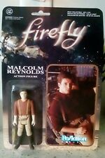 """FIREFLY MALCOLM REYNOLDS ACTION FIGURE 3.75"""" REACTION FUNKO RETRO KENNER"""