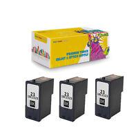 3PK 18C1523 (#23) Black Compatible Ink Cartridge for Lexmark X3530 Z1410