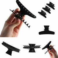 12Pcs Plastic Butterfly Hair Claw Salon Clip Clamps Hairdressing Hairdressers