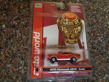Auto World 1970 Plymouth HEMI Cuda Red ThunderJet Slot Car Class of 70 NEW