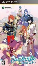 USED PSP Uta no Prince-Sama: Debut Japan Import game soft