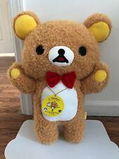 "NEW 2018 San-X RILAKKUMA 15TH ANNIVERSARY XL20"" Bear Soft Plush Plushy Big Japan"