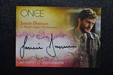 Once Upon a Time A11 Jamie Dornan Huntsman Autograph Trading Card Fifty Shades