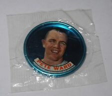 1965 Old London Topps Coin Pin Unopened Wax Cello Pack Pete Ward White Sox