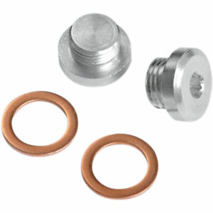 Vance & Hines 12mm O2 Oxygen Sensor Port Plug Kit Harley - 16935