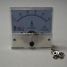 New DC 0-50A 85C1 Analog AMP Panel Meter Gauge Top Quality