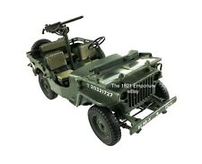 1:18 21st Century Toys Ultimate Soldier WWII US Army Willys MB 1/4 Ton Jeep