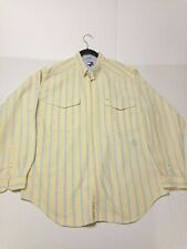 Men's Tommy Hilfiger Long Sleeve Button Down 100% Cotton Casual Shirt Size XL
