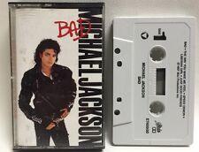 Michael Jackson Bad Original Release Cassette Tape Ex