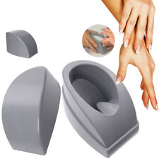 French Gray Dip Nail Container Dipping Power Tray Manicure Tool with Nail Guide