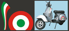 Adesivi tricolore Piaggio Vespa - adesivi/adhesives/stickers/decal