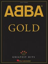 ABBA Gold: Greatest Hits Sheet Music Easy Piano Book NEW 000306820