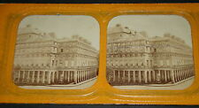 Photo STEREOSCOPIQUE THEATRE COMEDIE FRANCAISE PARIS NAPOLEON III 1860 STEREO