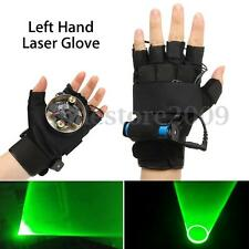 532nm Green Laser Gloves Chargeable Votex Effect Stage Lighting Show Left Hand