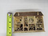 Vintage 1981 Merrimack Dollhouse Ornament Box