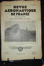 revue aéronautique de france , AVIATION  1929; Octo. N°10, SOMMAIRE VOIR PHOTO