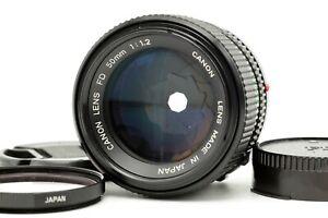 【EXC+++++】 Canon New FD 50mm f1.2 NFD MF 35mm SLR Standard Prime Lens from JAPAN