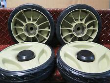 "Honda 21"" lawnmower 4x 8"" wheel set self propelled suit HRU216M2 HRU216K2 w/ hub"