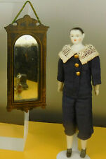 Qualitätvoller BOULLE WAND-SPIEGEL um 1870 für die Puppenstube