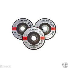"""Am-Tech 3pc Disco de molienda de Metal 115mm 4 1/2"""" Discos Amoladora de Ángulo de Corte"""
