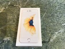 Apple iPhone 6S Gold 64GB Box w/Headphones, Manuals and Stickers ONLY