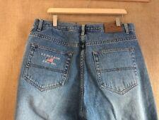U.S. Polo ASSN. men's light blue denim jeans size 38 x 30 cotton zip fly high-ri