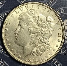 1885 Morgan Silver Dollar Old US Collector Coin for Collection. FREE SHIPPING