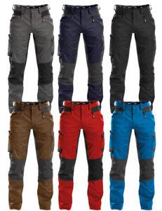 Dassy Helix Arbeitshose Stretch Herren bequeme Bundhose Arbeitskleidung