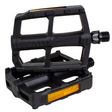 Bike Pedal Set, Universal Bicycle Pedals, 9/16-Inch Boron Steel Spindle BV-PD1-R